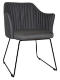 COOGEE ARM CHAIR SLED METAL - Richmond Office Furniture