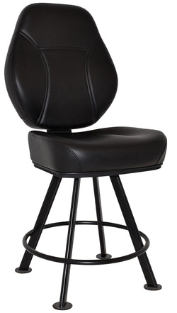 Cairo Gaming Stool Black Legs - Richmond Office Furniture