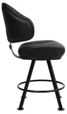 LUXOR GAMING STOOL BLACK - Richmond Office Furniture