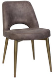 ALBURY CHAIR BRASS METAL LEG - Richmond Office Furniture