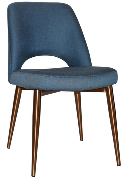 ALBURY CHAIR COPPER METAL LEG - Richmond Office Furniture