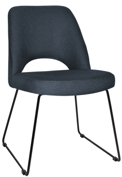 ALBURY CHAIR SLED BASE - Richmond Office Furniture