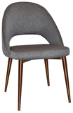 Chevron Chair Copper Leg - Richmond Office Furniture
