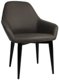 BRONTE TUB CHAIR 4 LEG METAL - Richmond Office Furniture