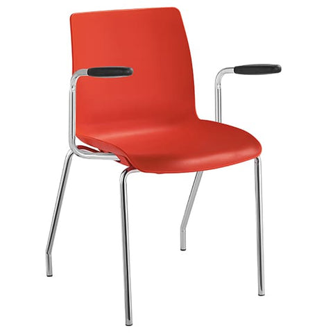 Pod 4 Leg Stacking Arm Chair - Richmond Office Furniture