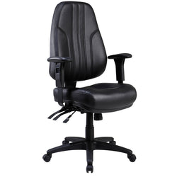 ROVER LEATHER CHAIR - Richmond Office Furniture