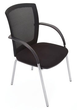 WMVBK Mesh Visitor Chair - Richmond Office Furniture