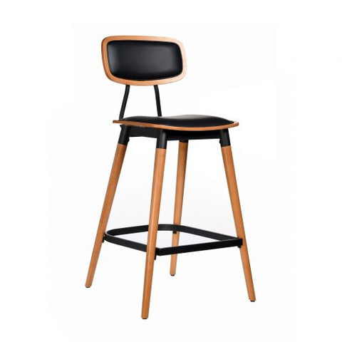 Felix Bar Stool Padded Seat & Back - Richmond Office Furniture