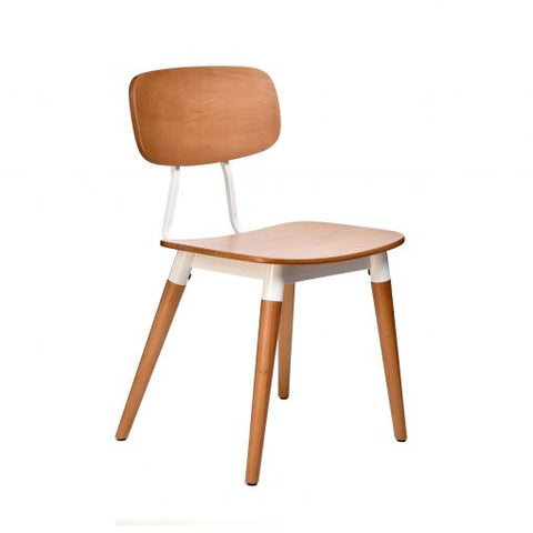 FELIX CHAIR WITH PLY WOOD SEAT - Richmond Office Furniture
