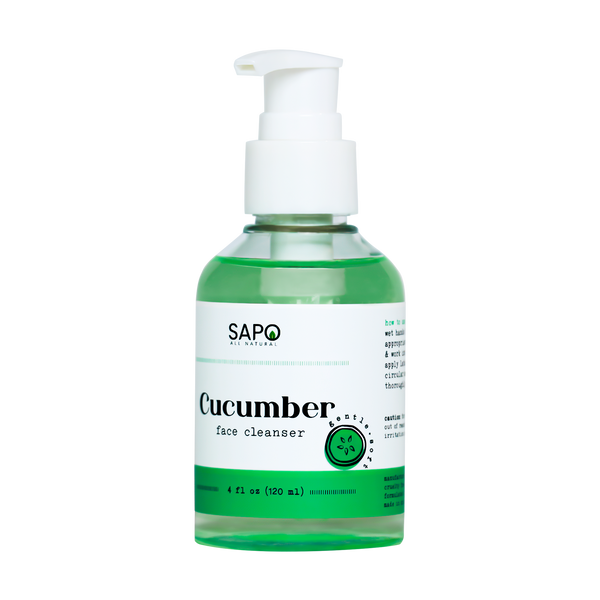 Sapo All Natural Cucumber Face Wash