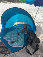 IKEA Beach canopy for children at the beach and traveling