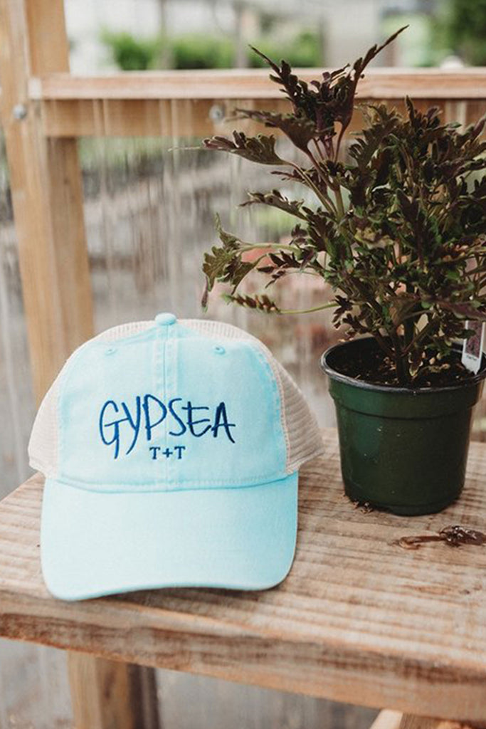 GYPSEA Mesh Blue Trucker Hat