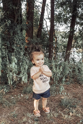 Hey, Soul Sister Blush Tee for Children