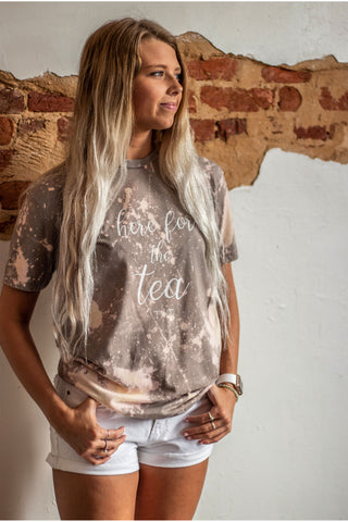 Stone Bleached Tee