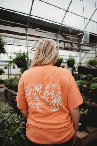 Friends in the South Orange Tee