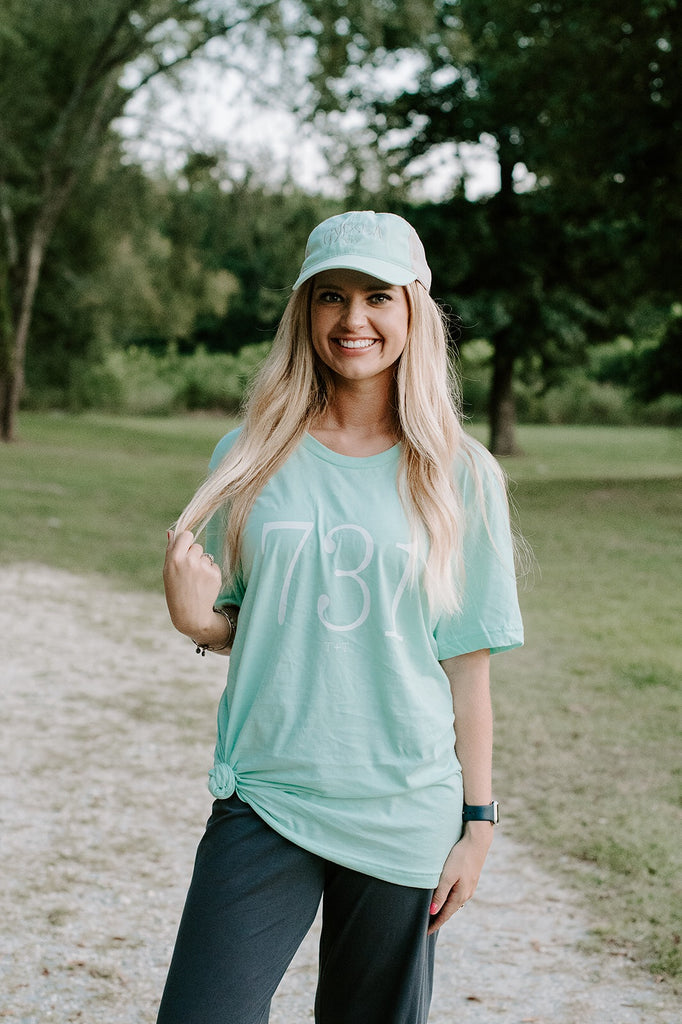 Area Code Mint Triblend Tee