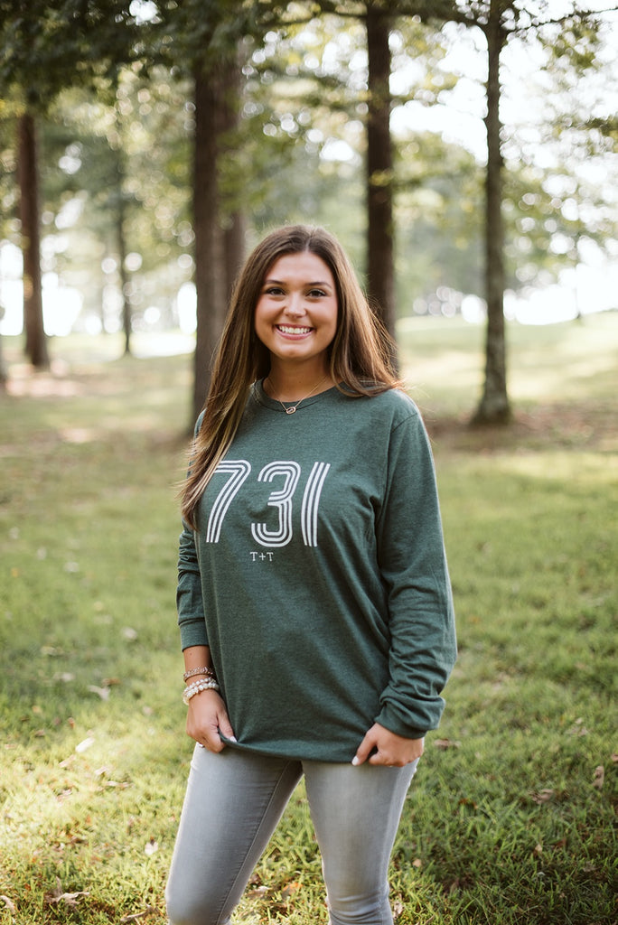 Retro 731 Forest Long Sleeve Tee