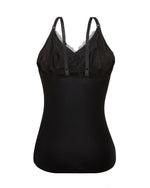 Black Lace Nursing Camisole