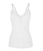 (New) White Lace Nursing Camisole