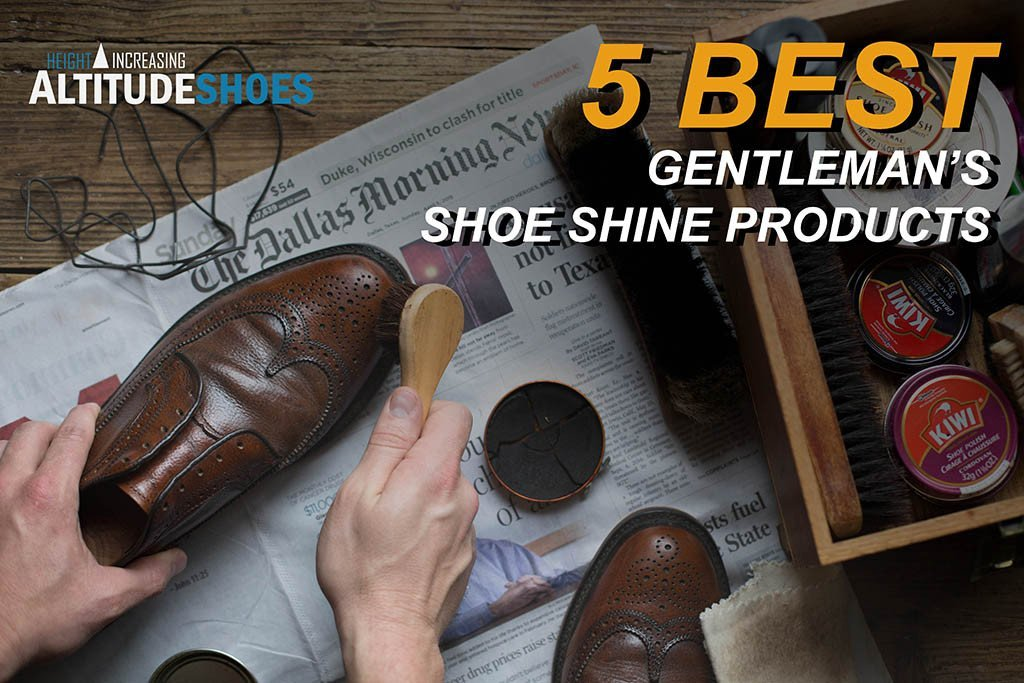 5 Best gentleman's shoe shine products