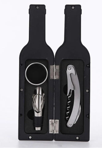3pcs Wine Bottle Gift Set