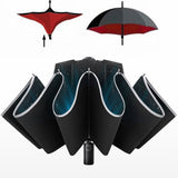Automatic Umbrella Men LED