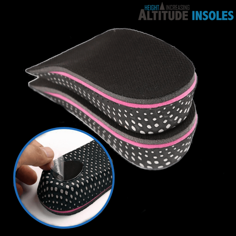 Altitude Non-slip Increase heel insoles