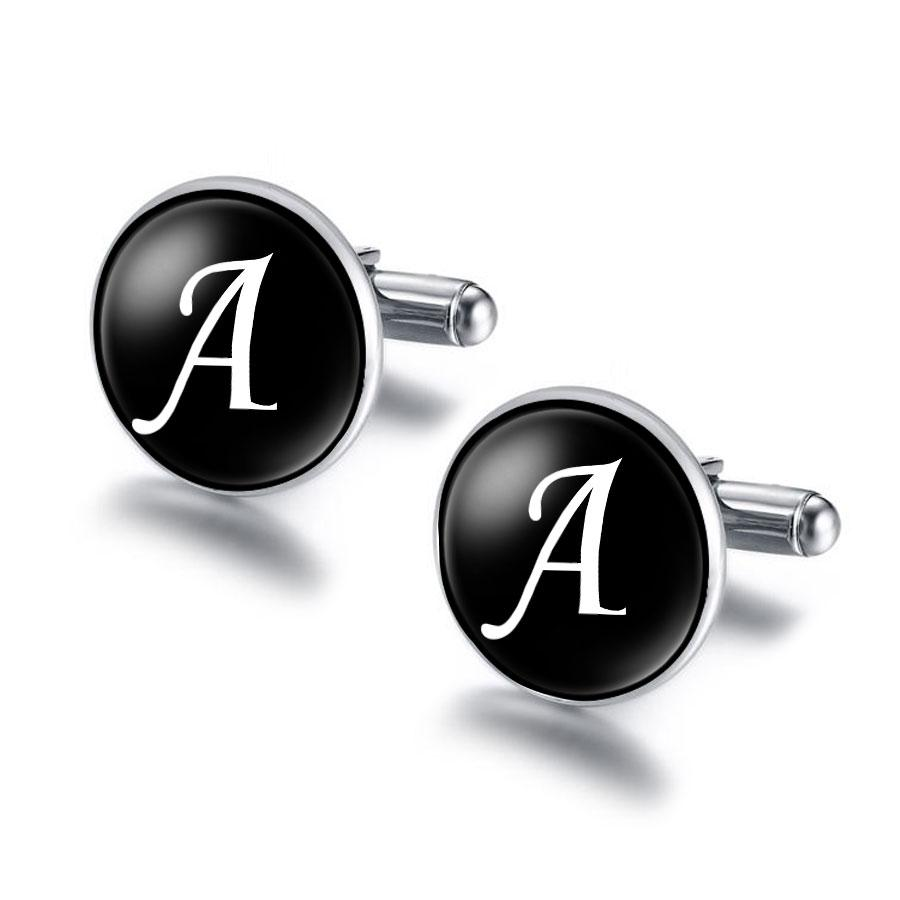 Letters Cufflinks A - M