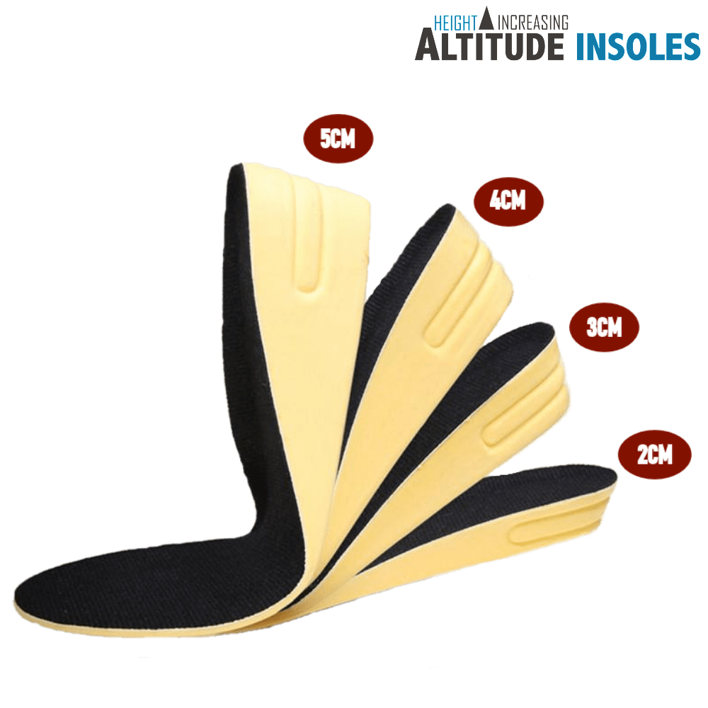 Altitude 'ULTIMATE 7' Height Increasing Insole
