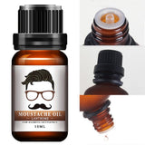 Natural 10ml Men's Beeswax Beard Oil for Styling, Moisturizing, Smoothing