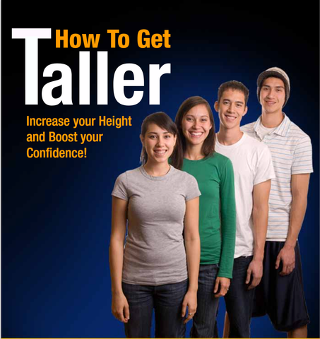 TALLER - 8 Secrets to Getting Tall Fast (eBook - digital delivery straight after purchase)