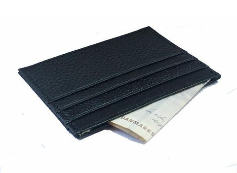 Minimal Leather Card Holder