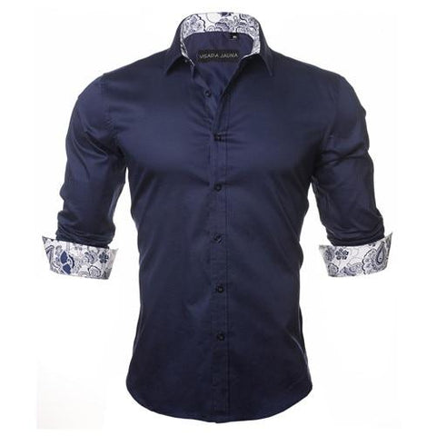 Vance Shirt (Dark Blue)