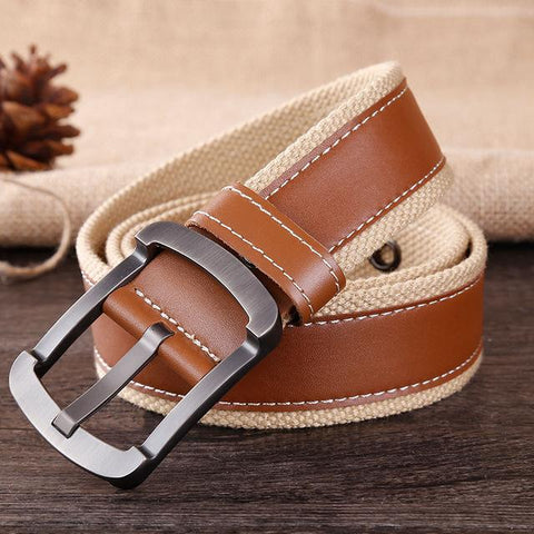 Canvas Casual Belt