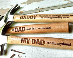 Engraved Hammer,Personalized gift,Daddy/'s present Mans CaveMans Cave,ornament crafts,Personalized hammer,Message engraved hammer