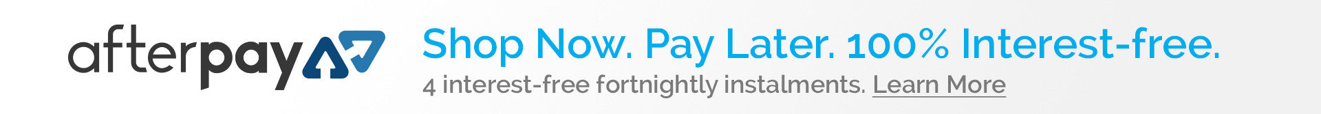 AfterPay. Shop now. Take now. Pay later.