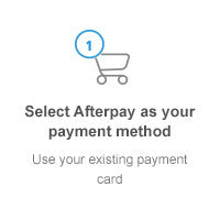 Step 1 - Select AfterPay