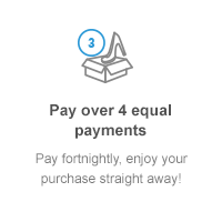 Step 3: Pay over 4 equal fortnightly payments.