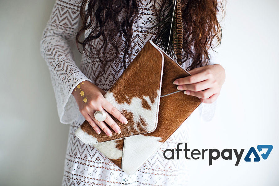 AfterPay Bare Leather bags today