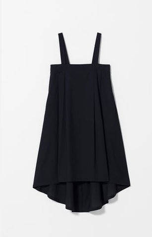 BLACK TABLIER DRESS
