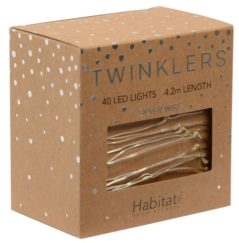 TWINKLERS SILVER LED LIGHTS