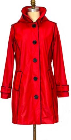 PIPDUCK -BRODY RED PIPER RAINCOAT