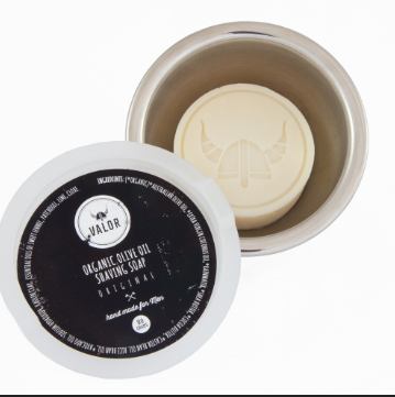 SHAVE WITH VALOR - ORIGINAL  SHAVE SOAP & VESSEL