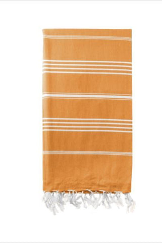 HAMMAMAS TURKISH TOWEL - ORANGE