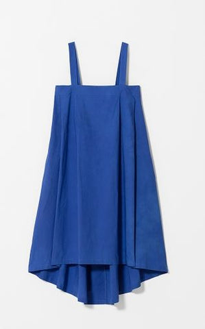 BLUE TABLIER DRESS