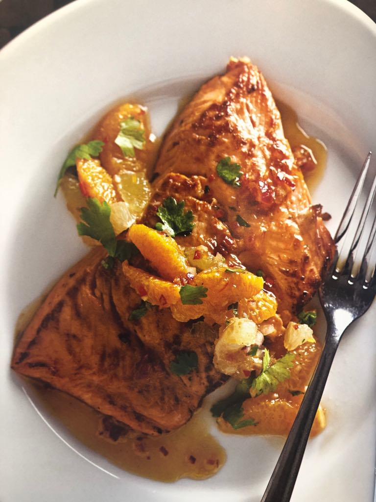 Spiced Citrus Salmon