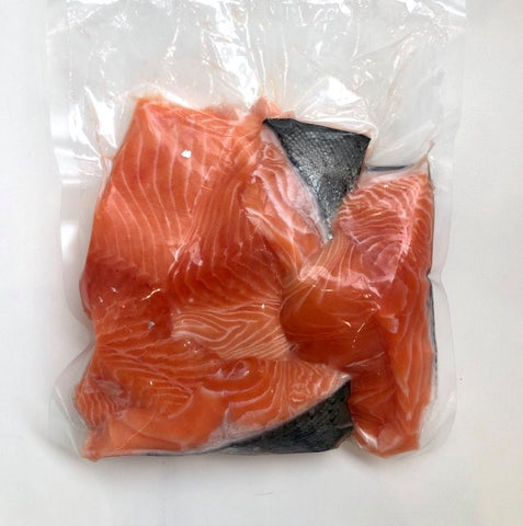 Fresh Salmon Pieces (Skin-On)