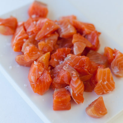 Cold Smoked Salmon Pieces