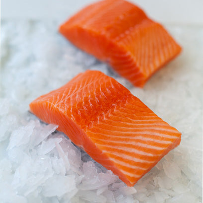 Fresh Cut Salmon Portion (Skin Off)