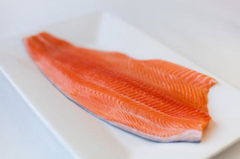 Fresh Salmon Fillet (Bone In)
